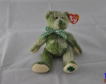 McWooly the Irish Bear 2004 Ty Beanie Baby