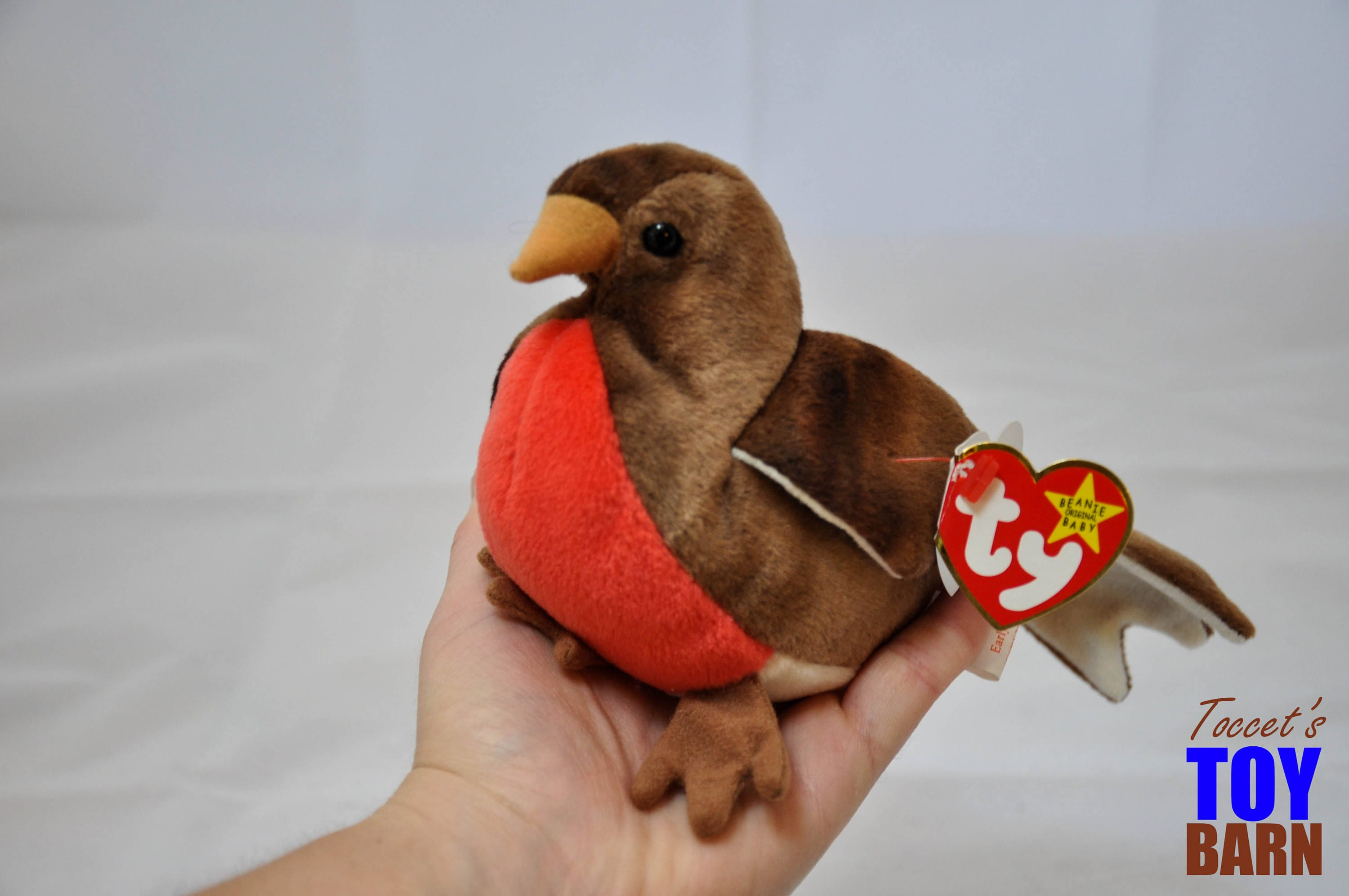 67fe5708cf9 Early the Robin  Vintage 1997 Ty Beanie Baby