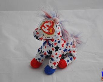 Lefty 2004 Ty Donkey Beanie Baby