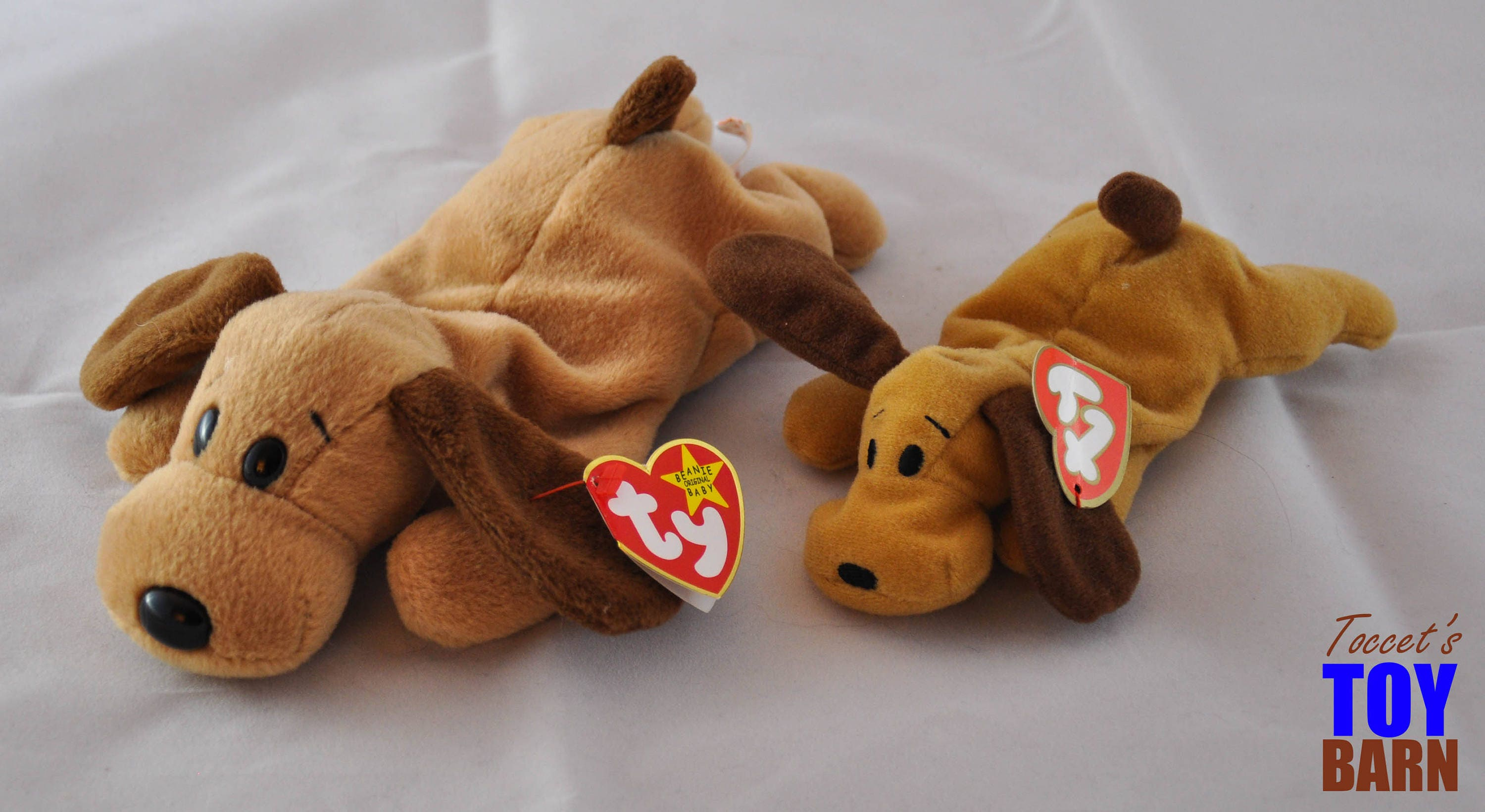 ce89fdd0aaa Bones the Dog Vintage 1994 Ty Beanie Baby Puppy Dog Toy