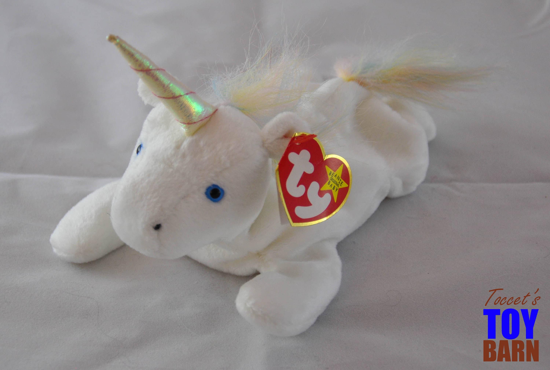 Mystic the Vintage 1994 Ty Beanie Baby Unicorn (Rainbow Mane) aa5c09f7a51