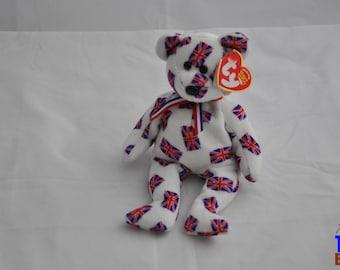 Jack the Bear 2003 British Ty Beanie Baby