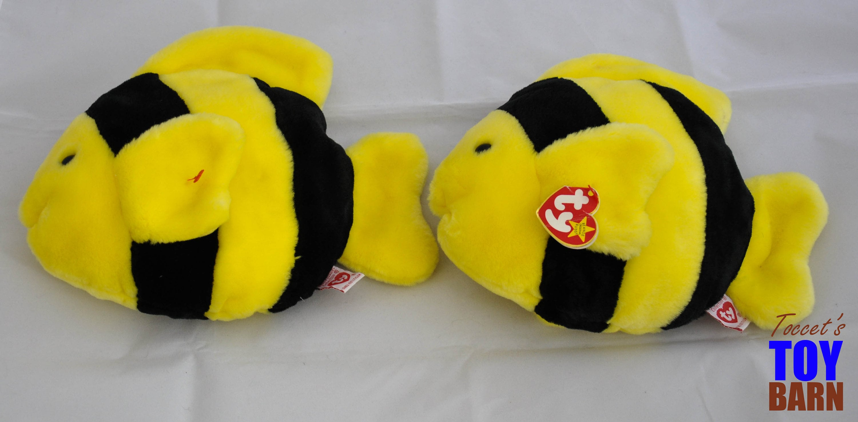 632f9637abc Bubbles the Vintage 1995 Ty Beanie Baby and Beanie Buddy Plush ...
