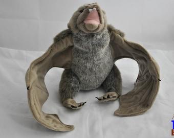 2009 Wild Republic Bat Stuffed Animal