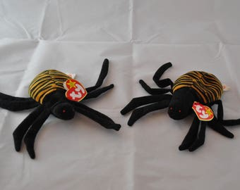 Spinner the Spider Vintage 1996 Ty Beanie Baby