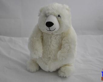 Polar Bear Stuffed Animal Plushie From Fiesta