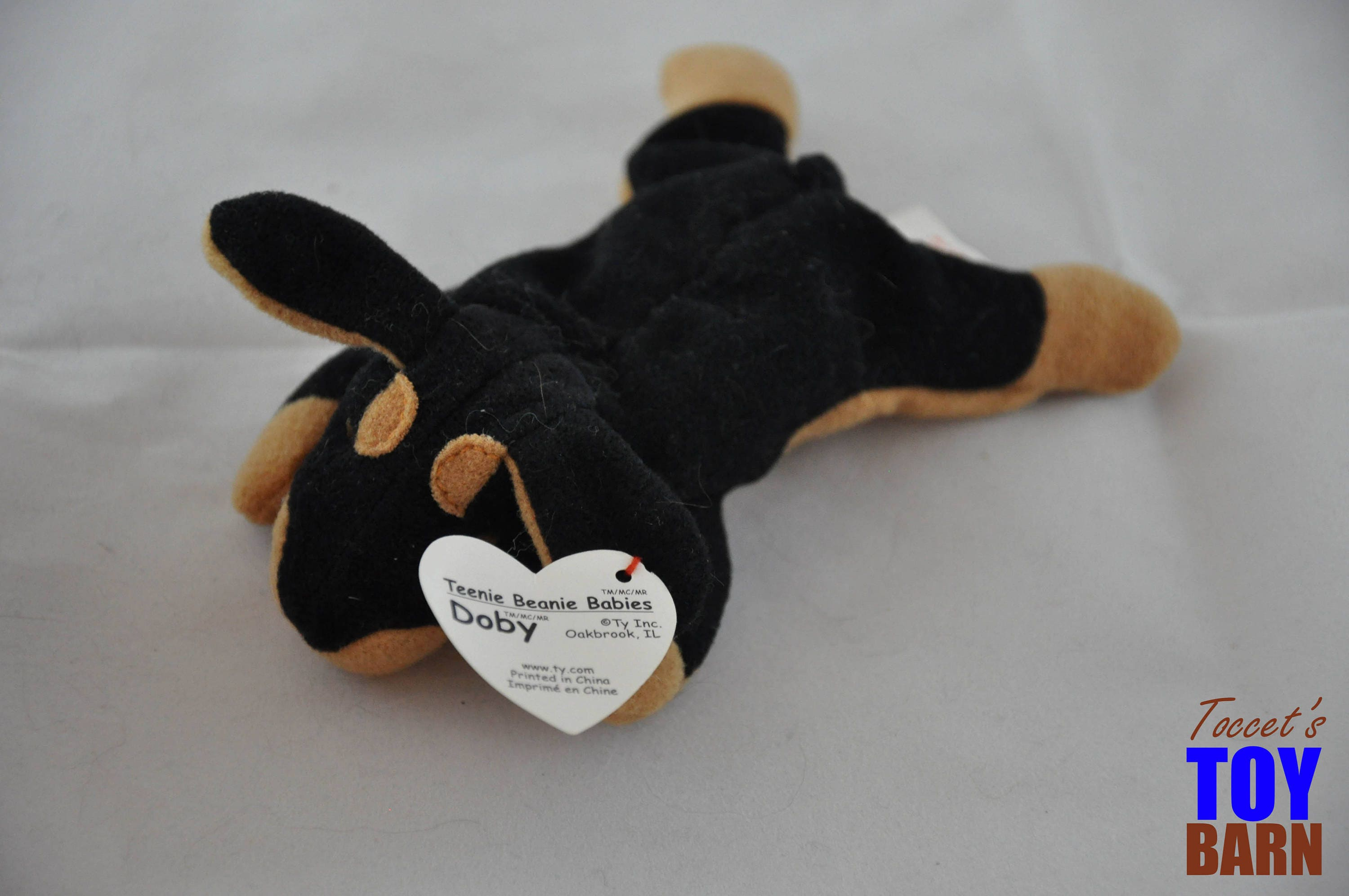 cc04dd75940 Doby the Doberman  Vintage 1996 Ty Beanie Baby Dog
