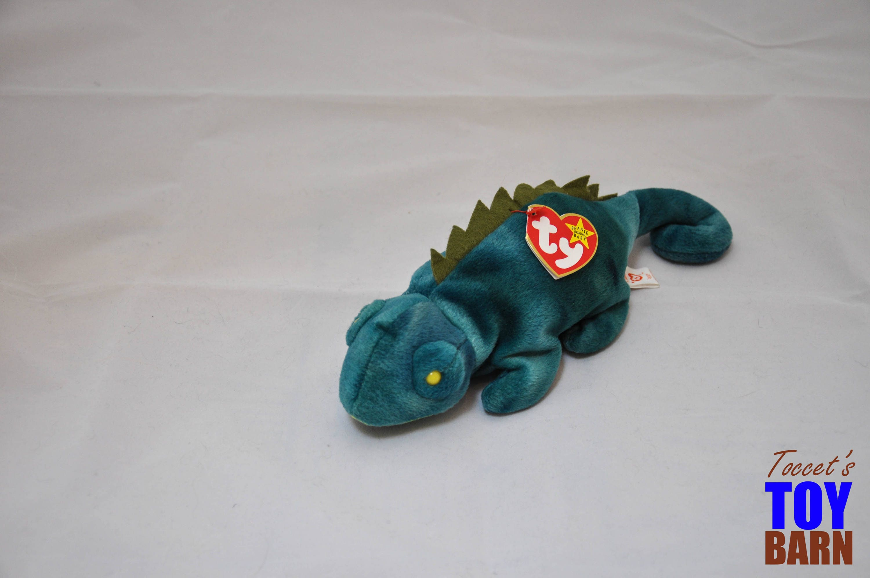 874221d2200 Iggy the Iguana  Vintage 1997 Ty Beanie Baby (Green Coat) and 1997 ...