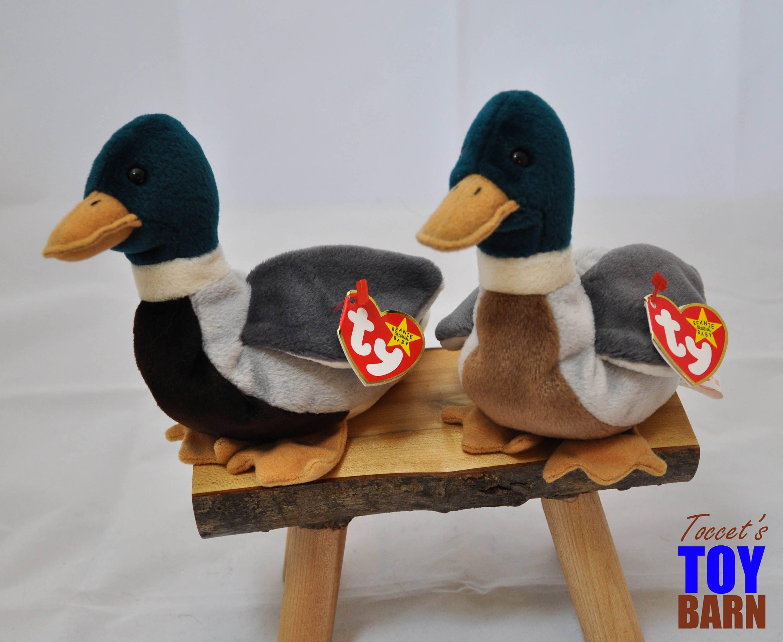 Jake the Mallard Duck  Vintage 1997 Ty Beanie Baby 007f9576d77