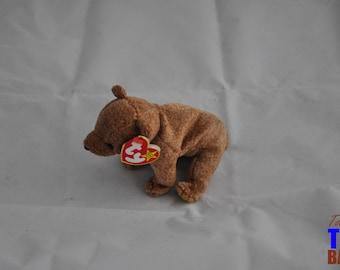 Pecan the Bear Vintage 1999 Ty Beanie Baby