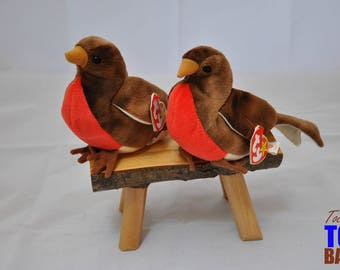 Early the Robin: Vintage 1997 Ty Beanie Baby