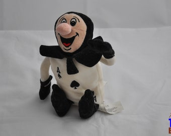 """Ace of Spades Card Plush Toy from Disney's """"Alice in Wonderland"""""""