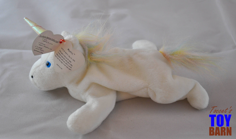 aedff338b Ty Beanie Babies Unicorn Value