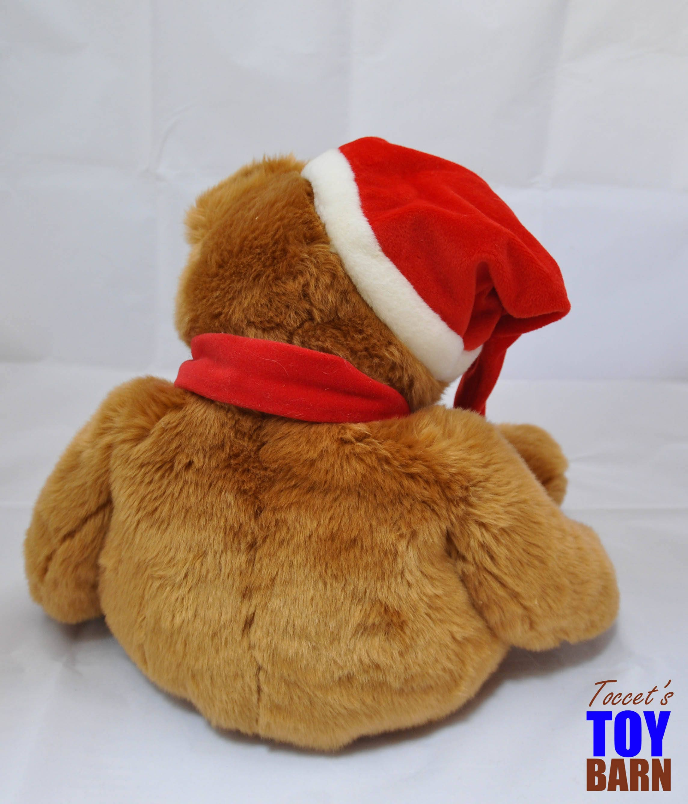 691c8da00835 Vintage 1997 Ty Large Christmas Holiday Plush Beanie Buddy Teddy ...