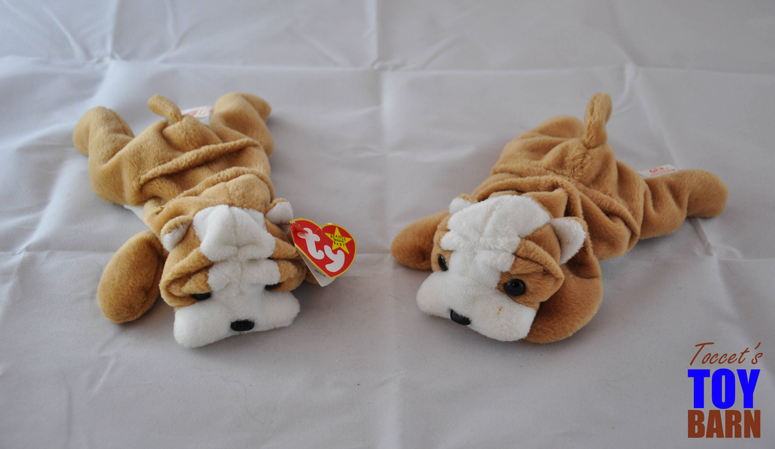 Wrinkles the Dog  Vintage 1996 Ty Beanie Baby Toys 00b6994539a