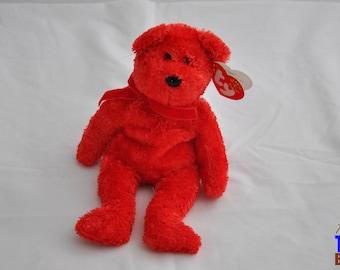 Sizzle the Bear 2001 Ty Beanie Baby