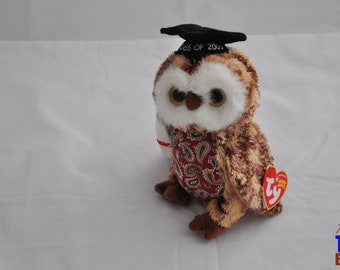 Smarty the Owl Class of 2005 Ty Beanie Baby