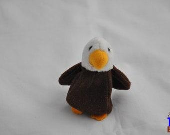 Tiny Bald Eagle Plush Toy