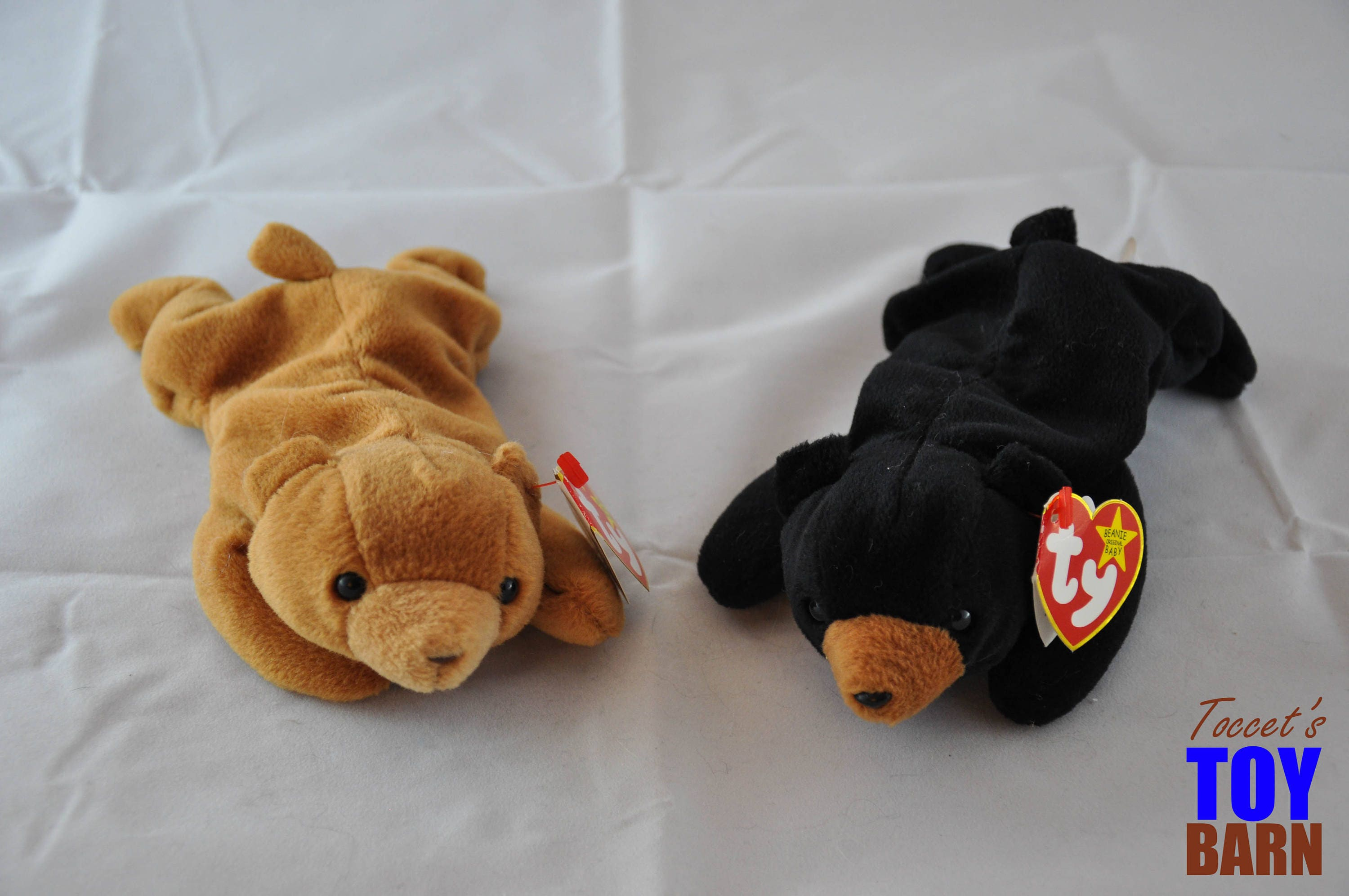 b3ffc9b370c Vintage Ty Beanie Baby Bear  Cubbie the Brown Bear (1993) and ...