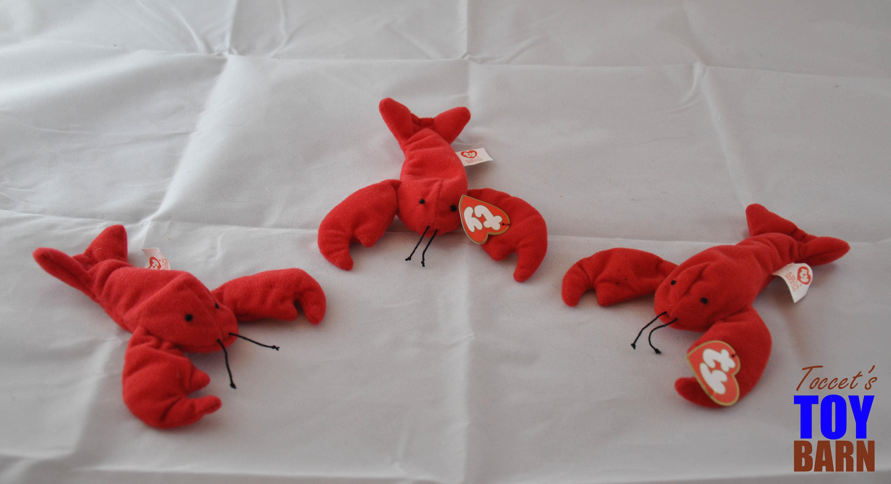 e09966ff0ce Pinchers the Lobster Vintage 1995 Ty Beanie Baby