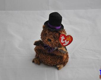 Punxsatawney Phil 2006 Ty Groundhog Day Beanie Baby
