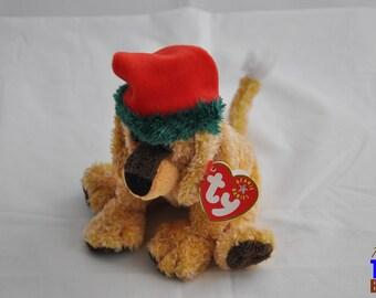 Jinglepup the Christmas Dog 2001 Ty Beanie Baby