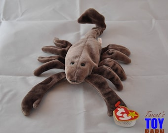 Stinger the Scorpion: Vintage 1997 Ty Beanie Baby Scorpion Toy