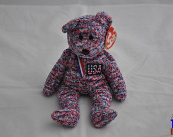 USA the Bear Vintage 2000 Ty Beanie Baby
