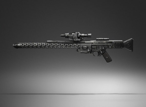 Entfernungsmesser Für Gewehre : Dlt 20a medium blaster gewehr hd qualität voller sla 3d druck etsy