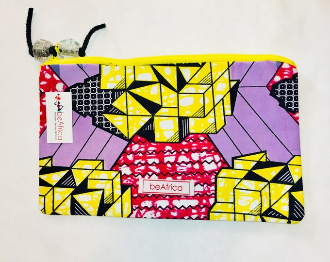 Featured listing image: Purse - African - Thema Pouch (MED) -  Geometric