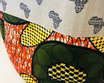 DRA Basket - flex fabric basket - African basket - Organic Africa
