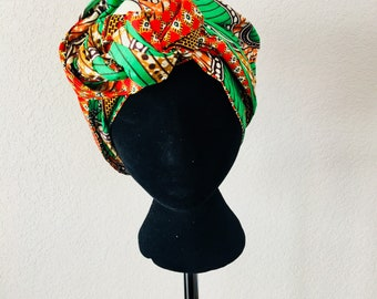Head Wrap - African - Reversible - Kop Wrap - Wilskrag (Willpower)