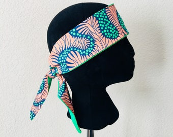 Head Band - African - Band - Peach parch