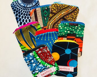 Coin Purse - African - Small (Set of three) - Klein
