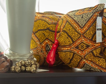 African throw pillow set (Two) - decorative pillows - 12X16- Versamel (Gather)