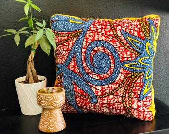 Meditation pillow- Meditasie kurring decorative pillows - 18x18- Stamplek (Tribal Place)
