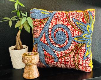 Meditation pillow- Meditasie kurring decorative pillows - 18x18- Stamplek (Tribal Place)