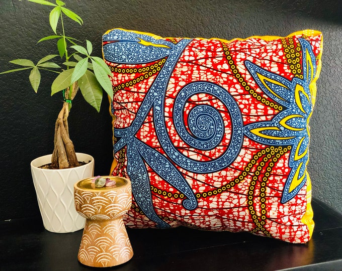Featured listing image: Meditation pillow- Meditasie kurring decorative pillows - 18x18- Stamplek (Tribal Place)