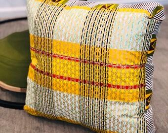 Meditation pillow- Meditasie kurring decorative pillows - 18x18- Basiese Erfines (Basic Heritage)