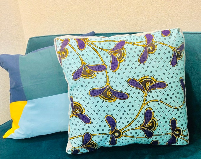 Featured listing image: Meditation pillow- Meditasie kurring decorative pillows - 18x18- Vooroudelike Wilgers (Ancestrial Willows)