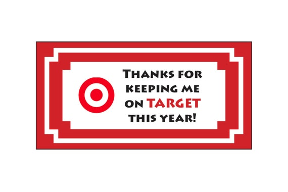 Teacher Appreciation End Of Year Gift Target
