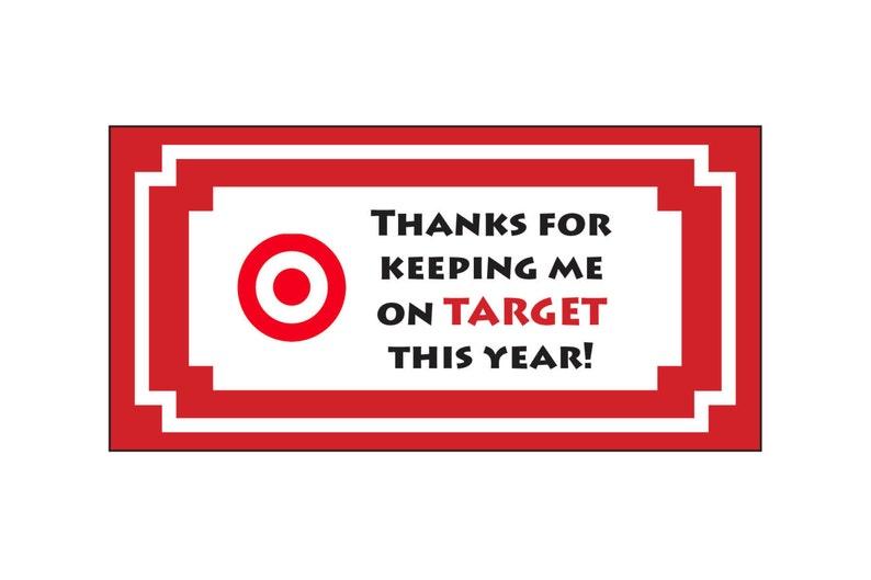 Teacher Appreciation End Of Year Gift Target