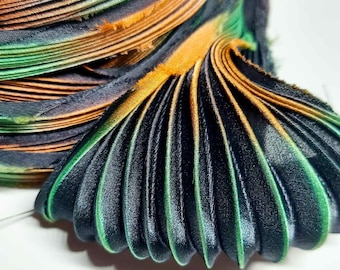 30cm Silk Shibori ribbon30cm Silk Shibori ribbon  not toxic dyes  embroidery beading textile