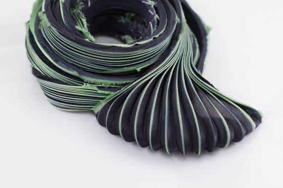 30cm de ruban de soie Shibori