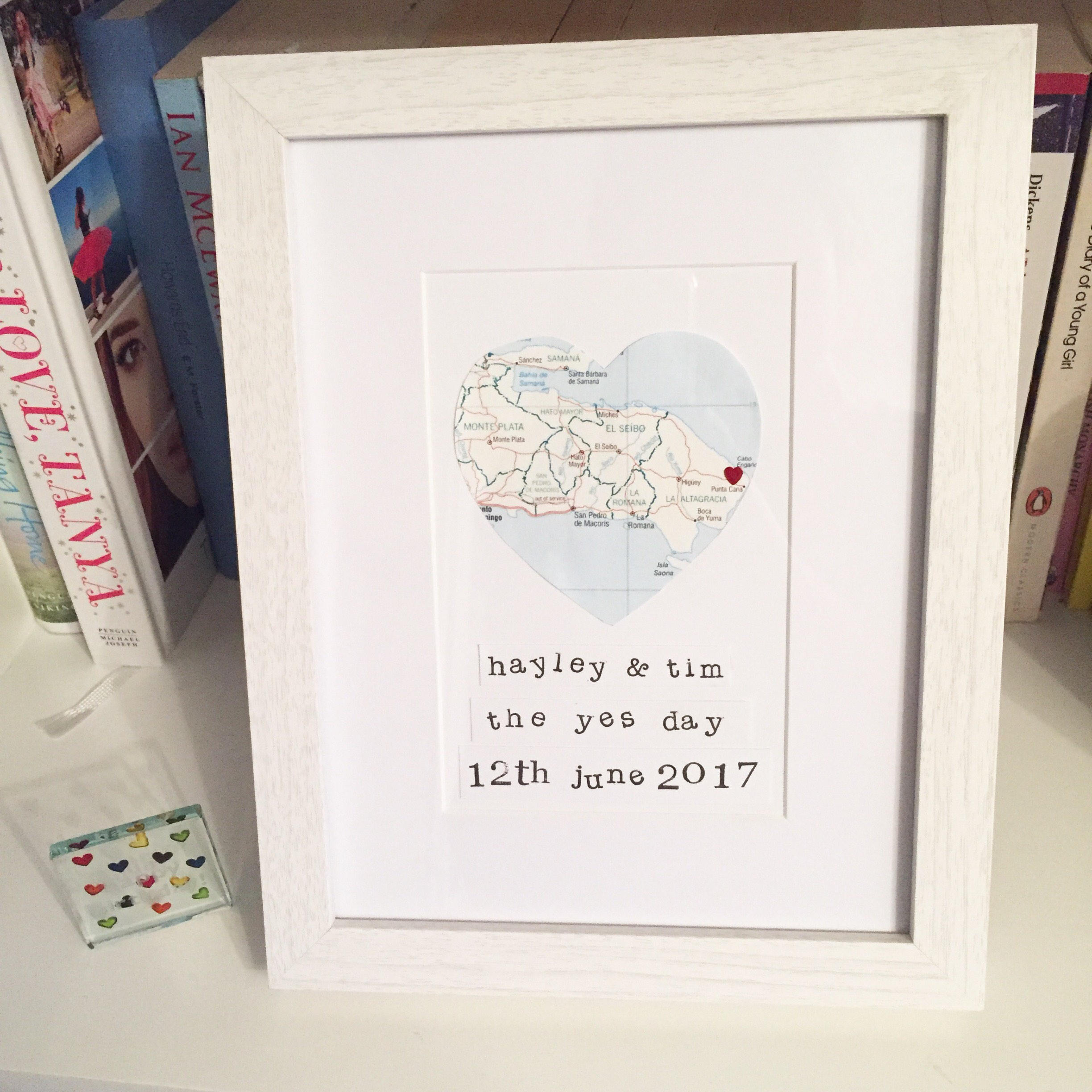 Personalised Custom Engagement Frame Etsy Alise Lucu