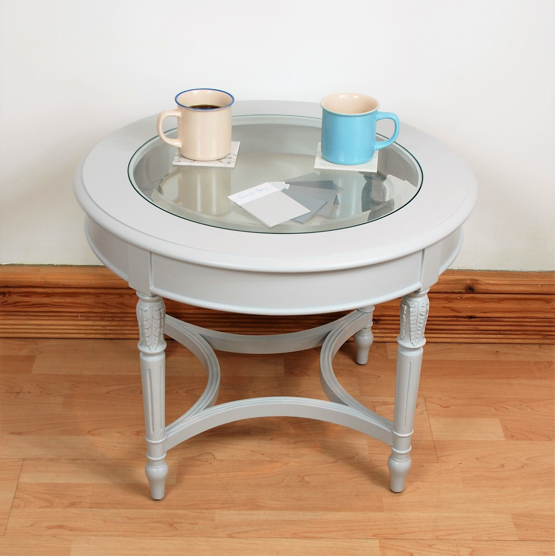 Round Coffee Table Round Glass Coffee Table Round Wooden Etsy