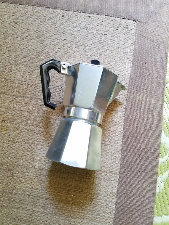 Crusinallo Italian Espresso Moka Pot Zanzibar Vintage Stovetop Etsy