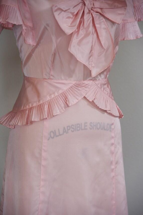 1930s Dress | Precious 1930s Acetate Pink Dress w… - image 7