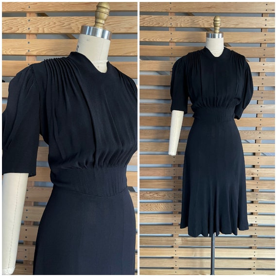 Reserved - 1930s Dress | Fantastic 30s Dress with
