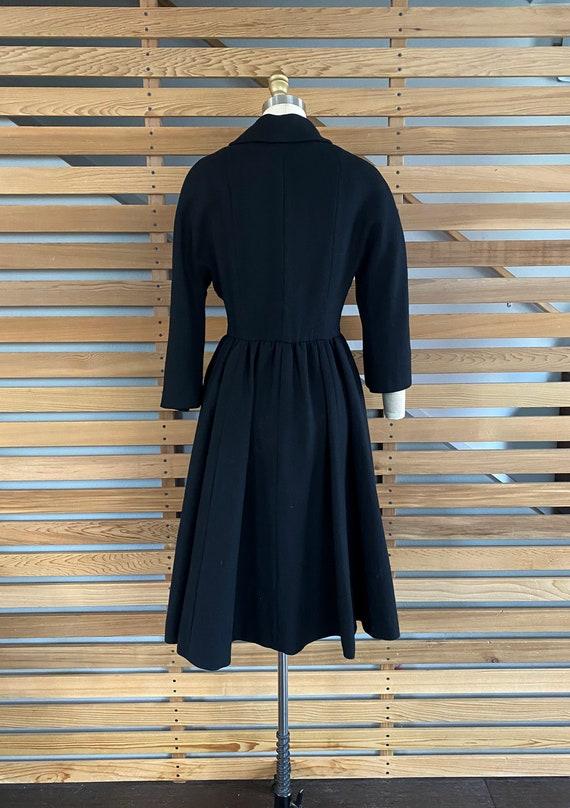1950s Coat | Wonderful 50s Wool Princess Coat wit… - image 8